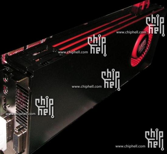 Видеокарта Cayman XT новой серии ATI Radeon HD 6000 на фото