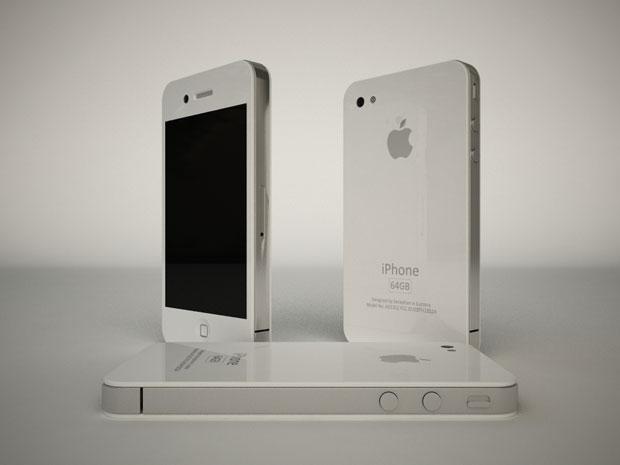 Причина задержки выпуска белых iPhone 4 - идеальный белый цвет не найден